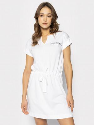 Plážové šaty KW0KW01061-YCD bílá - Calvin Klein bílá