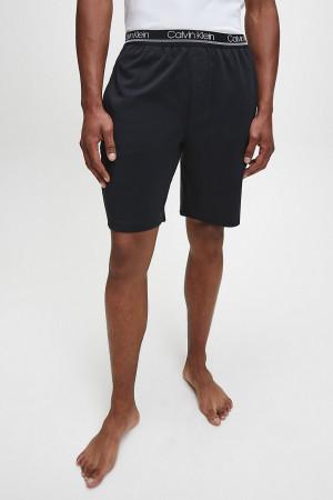 Pánské pyžamové šortky NM1843E-001 černá - Calvin Klein černá