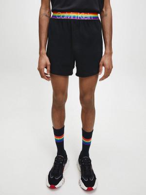 Pánské pyžamové šortky NM1854E-001 černá - Calvin Klein černá