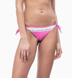 Spodní díl plavek KW0KW00650-658 růžová - Calvin Klein růžová
