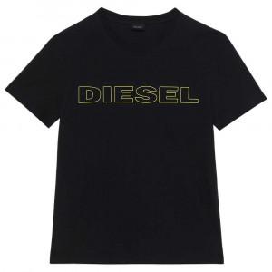 Pánské triko na spaní 00CG46-0DARX-E5191 černá - Diesel černá