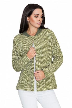 Dámská bunda / kabátek M585 - Figl olivovo zelená L-40