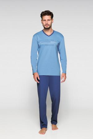 Pánské pyžamo Regina 567 dł/r M-XL béžová