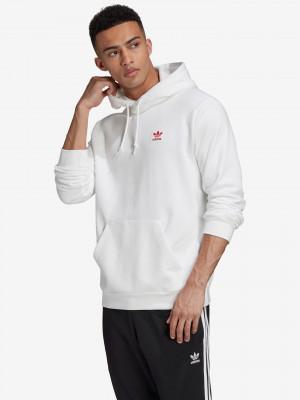 Trefoil Essentials Mikina adidas Originals Bílá