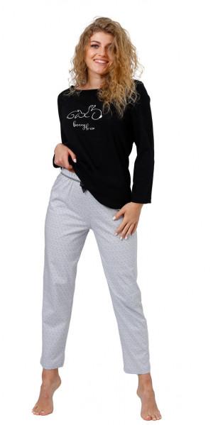 Dámské pyžamo SKARLETT 959 černá 2XL