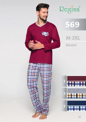 Pánské pyžamo 569 BIG tmavě modrá