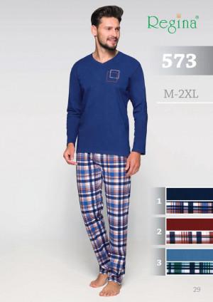Pánské pyžamo 573 BIG tmavě modrá