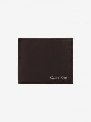 Peněženka Calvin Klein Hnědá