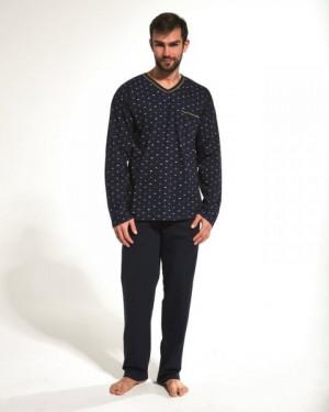 Cornette 310/172 Nick Pánské pyžamo plus size 3XL tmavě modrá