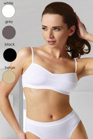 Fitness top Stella grey šedá
