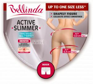 Dámské zeštíhlující kraťasy ACTIVE SLIMMER BOXER tělová - BELLINDA tělová