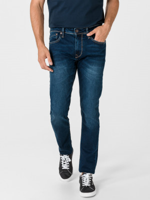 Finsbury Jeans Pepe Jeans Modrá