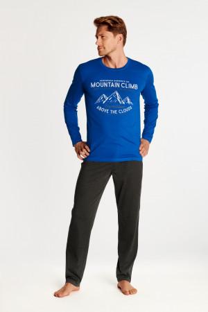 Pánské pyžamo OUTLAW 38374 modrá