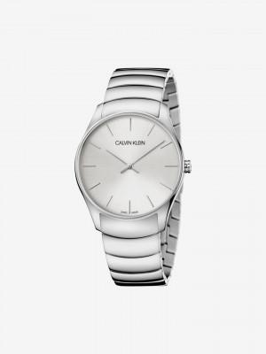 Classic Too Hodinky Calvin Klein Stříbrná
