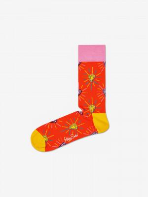 Pink Panther Pink Plunk Plink Ponožky Happy Socks Oranžová
