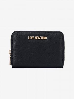 Peněženka Love Moschino Černá