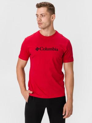 CSC Basic Logo™ Triko Columbia Červená