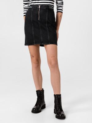 Sukně Calvin Klein Černá