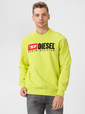 Division Mikina Diesel Žlutá
