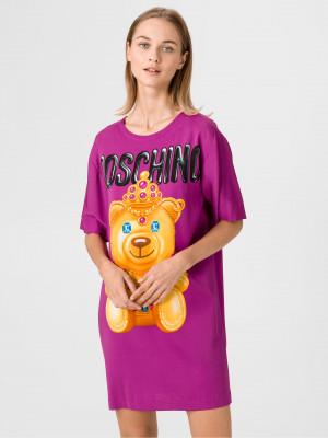 Šaty Love Moschino Fialová