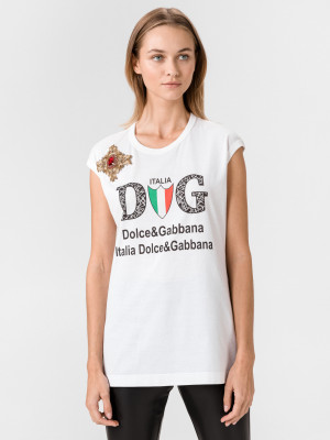 Triko Dolce & Gabbana Bílá