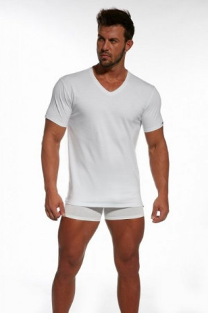 Cornette Authentic 201 Pánské tričko 2XL bílá