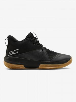 SC 3ZERO IV Basketball Tenisky Under Armour Černá