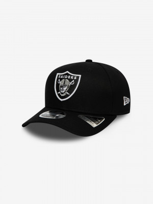Oakland Raiders Team Stretch 9FIFTY Kšiltovka New Era Černá