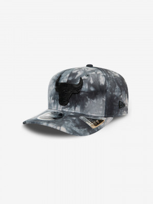 Chicago Bulls Team Tie Dye 9Fifty Kšiltovka New Era Šedá