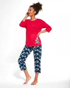 Cornette 391/248 Katherine Dámské pyžamo XXL růžová