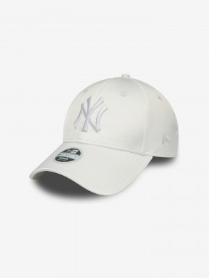 New York Yankees MLB Satin 9Forty Kšiltovka New Era Bílá