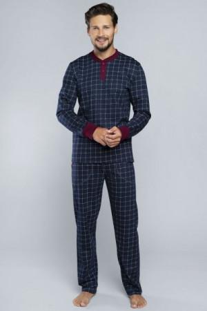 Italian Fashion Osvald Pánské pyžamo M tmavě modrá