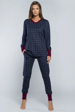 Italian Fashion Marlena Dámské pyžamo M tmavě modrá