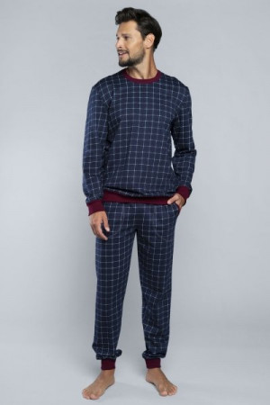 Italian Fashion Błażej Pánské pyžamo M tmavě modrá