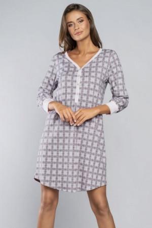 Italian Fashion Gizela Noční košilka M růžová/tisk