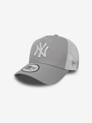 New York Yankees Clean A Frame Kšiltovka New Era Šedá