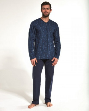 Cornette 310/173 Victor Pánské pyžamo XXL jeans