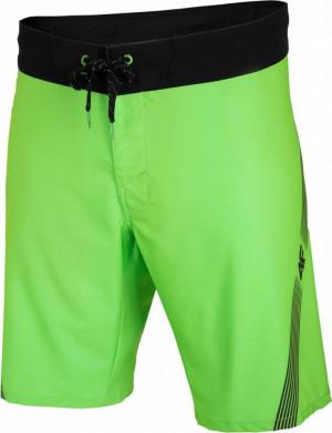 Pánské plavkové šortky 4F SKMT003 neonově zelená neonově zelená