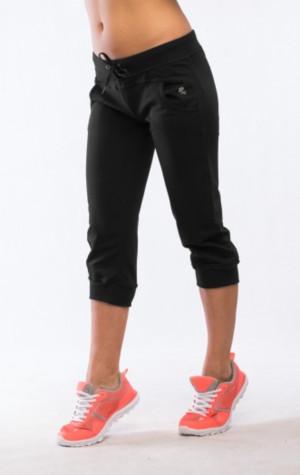 Kapri kalhoty 0223 šedá-žíhaná