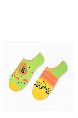 Asymetrické dámské kotníkové ponožky More 005 modrá 35-38