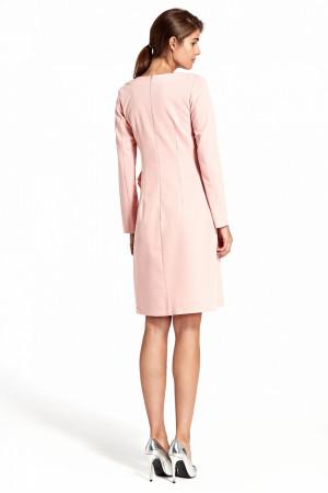 Společenské šaty S103 model 123860 Nife růžová