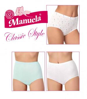 Dámské kalhotky Lama Manuela XXL A'6 bílá