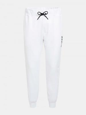Pánské teplákové kalhoty U0BA08RJQ30 - TWHT bílá