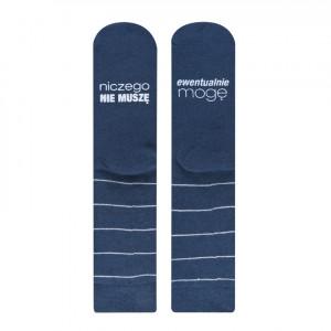 Froté ponožky SOXO se životními instrukcemi - MOGĘ (