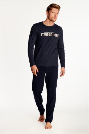 Pánské pyžamo OUTDOOR 38382 tmavě modrá