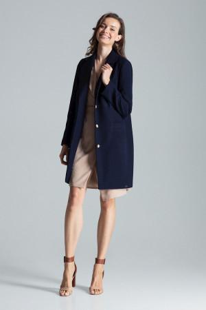 Dámský plášť M670 - Figl tmavě modrá