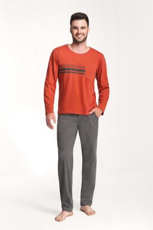 Pánské pyžamo 707 rudá