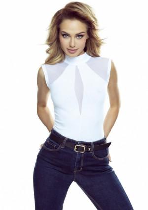 Dámský top Eldar Chanel L Bílá