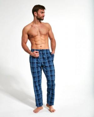 Cornette 691/26 654503 Pyžamové kalhoty M tmavě modrá