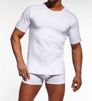 Cornette 202 New Pánské tričko plus size 4XL bílá